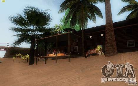 New Country Villa для GTA San Andreas четвёртый скриншот
