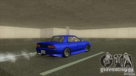 Nissan Skyline R32 GTS-T для GTA San Andreas вид сзади слева
