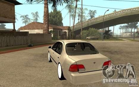 Nissan Maxima 1998 для GTA San Andreas вид сзади слева