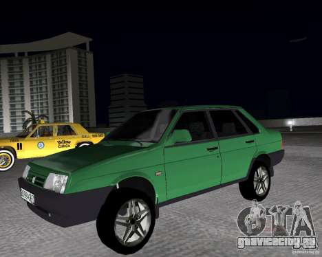 Ваз 21099 Light Tuned для GTA Vice City