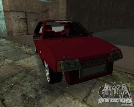ВАЗ 2109 Drift для GTA San Andreas вид сзади слева
