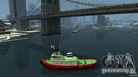 TUG Texture and Handling для GTA 4 вид слева