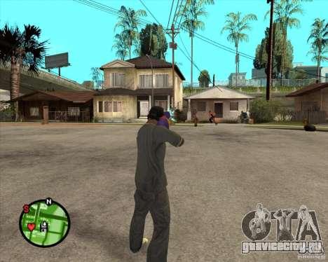 Водяной пистолет для GTA San Andreas второй скриншот