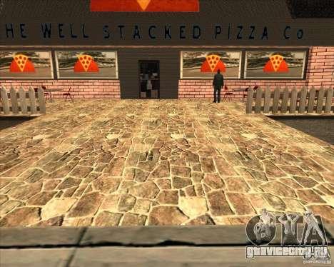 Новая пиццерия в IdelWood для GTA San Andreas четвёртый скриншот