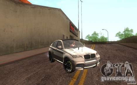 Bmw X6 M Lumma Tuning для GTA San Andreas вид слева
