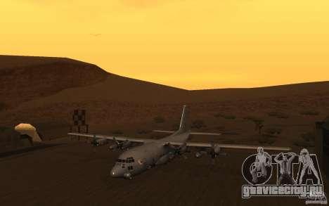 AC-130 Spectre для GTA San Andreas вид слева