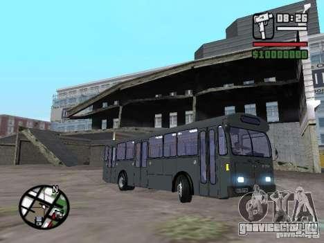 FBW Hess 91U для GTA San Andreas вид слева