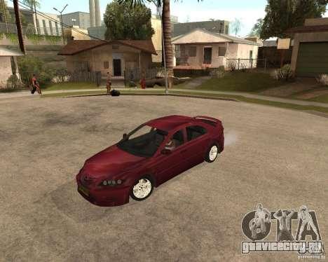 Mazda 6 Sport для GTA San Andreas вид слева