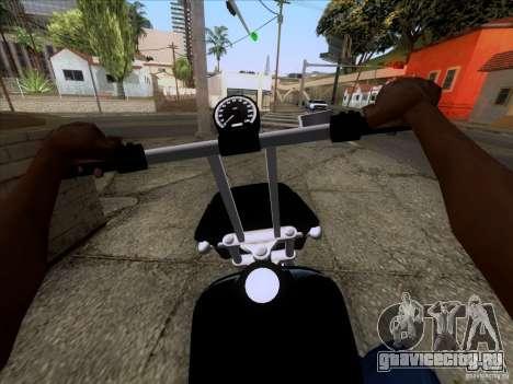 Harley Davidson FXD Super Glide для GTA San Andreas вид справа