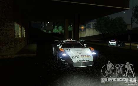 Maserati MC12 GT1 для GTA San Andreas вид сверху
