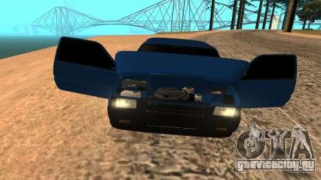 ВАЗ Ока 1111 для GTA San Andreas вид сверху