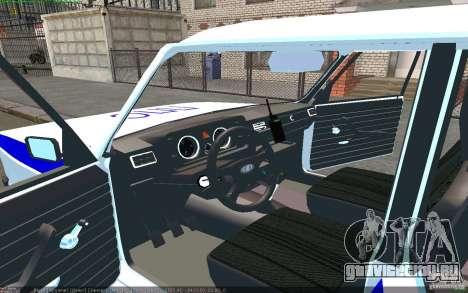 Ваз 2105 ППС Жигули для GTA San Andreas вид слева
