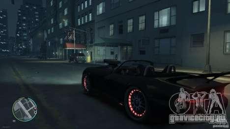 Red Neon  Banshee для GTA 4 вид справа