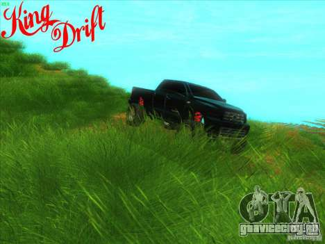 Toyota Tundra OFF Road Tuning для GTA San Andreas вид изнутри
