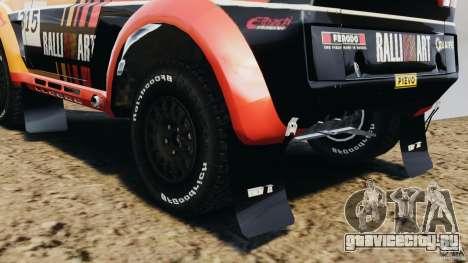 Mitsubishi Pajero Evolution MPR11 для GTA 4 вид сбоку