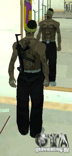 Vagos Gang Skins для GTA San Andreas