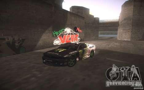 Ford Mustang Monster Energy для GTA San Andreas