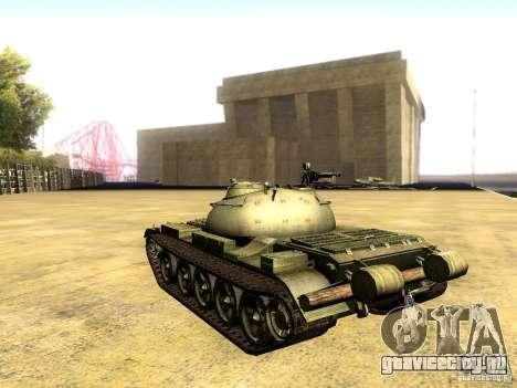 Type 59 V2 для GTA San Andreas вид слева