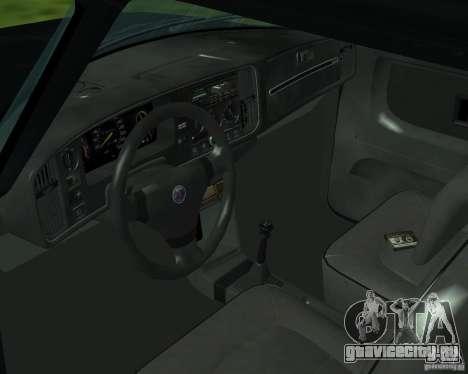 Saab 900 Turbo 1989 v.1.2 для GTA San Andreas вид сверху
