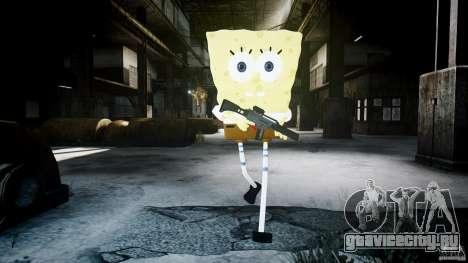 Спанч Боб для GTA 4 девятый скриншот