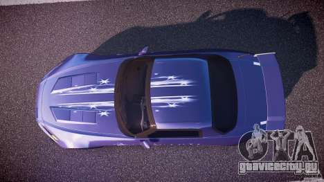 Honda S2000 Tuning 2002 skin 2 спокойный для GTA 4 вид справа