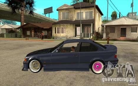BMW E36 M3 Street Drift Edition для GTA San Andreas вид слева