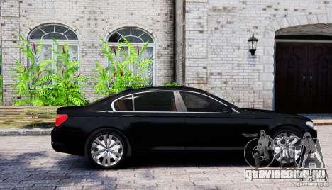 BMW 750Li для GTA 4 вид слева