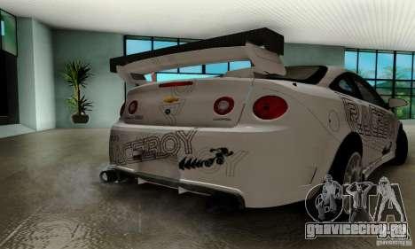 Chevrolet Cobalt SS для GTA San Andreas салон