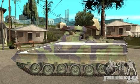 Marder 1A3 для GTA San Andreas вид слева
