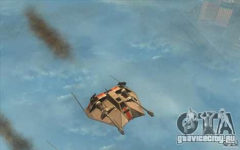 T-47 Snowspeeder для GTA San Andreas вид слева