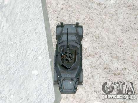 Бронетранспортёр из игры В Тылу врага 2 для GTA San Andreas вид сзади