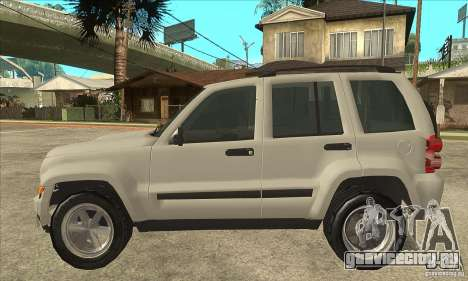Jeep Liberty 2007 Final для GTA San Andreas вид слева