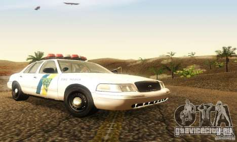 Ford Crown Victoria New Jersey Police для GTA San Andreas