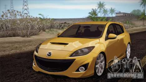 Mazda Mazdaspeed3 2010 для GTA San Andreas