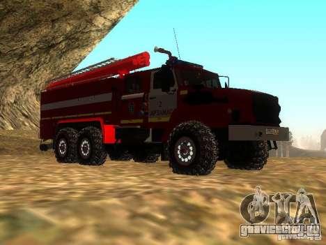 Урал 43206 АЦ 3.0-40 (6x6) для GTA San Andreas вид справа