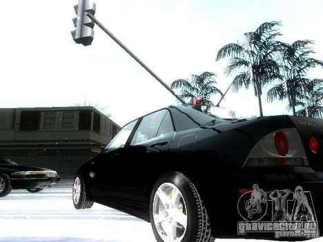 Lexus IS300 для GTA San Andreas вид снизу