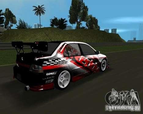 Mitsubishi Lancer Evo VIII для GTA Vice City