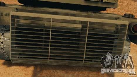 M1A2 Abrams для GTA 4 вид сбоку