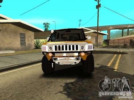 Scion xB OffRoad для GTA San Andreas вид сзади
