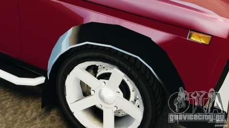 ВАЗ-21214 Нива (Lada 4x4) для GTA 4 колёса