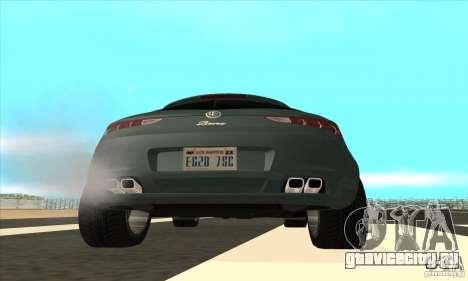 Alfa Romeo Brera из NFSC для GTA San Andreas вид сбоку