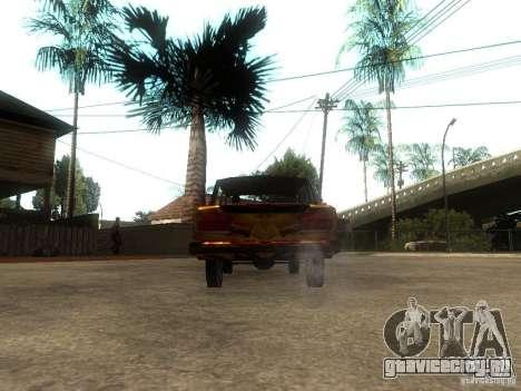 ВАЗ 2106 из игры S.T.A.L.K.E.R. для GTA San Andreas вид сзади слева