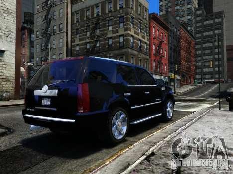 Cadillac Escalade v3 для GTA 4 вид справа