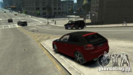 Audi BS3 O.CT Tuning для GTA 4 вид слева