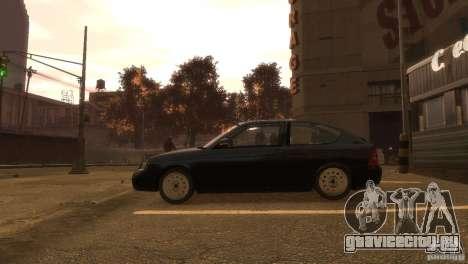 ВАЗ 2172 Приора купе сток для GTA 4 вид слева