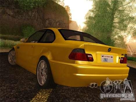 BMW M3 E46 для GTA San Andreas вид слева