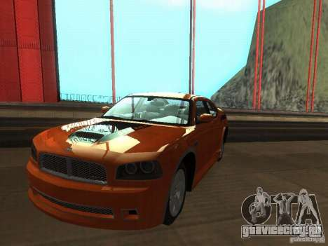 Dodge Charger From NFS CARBON для GTA San Andreas