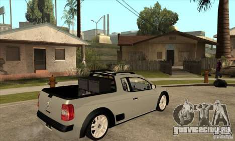 Volkswagen Saveiro G5 для GTA San Andreas вид справа