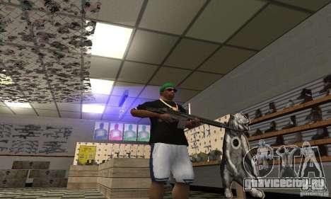 Heckler & Koch HK-33 для GTA San Andreas третий скриншот