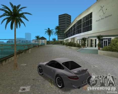 Porsche 911 Sport для GTA Vice City вид справа